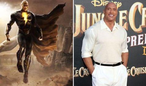 The Rock's Black Adam set leak: Dwayne Johnson's DC supervillain first look 'He nailed it'