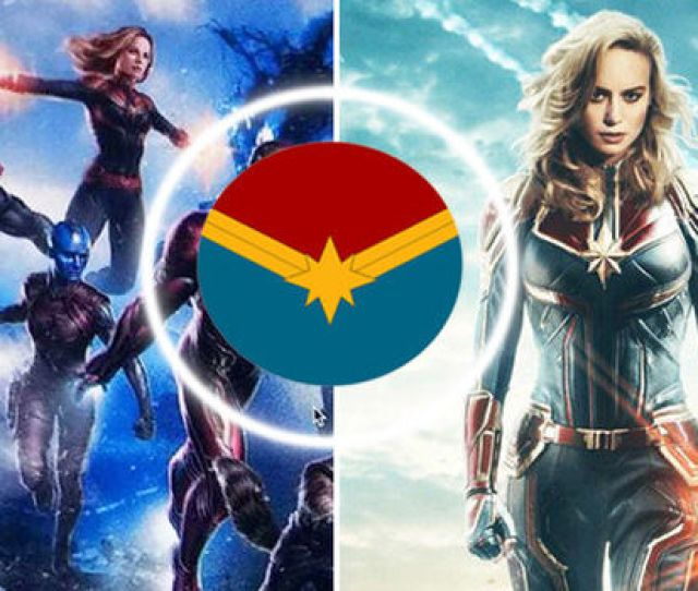 Avengers Captain Marvel First Trailer Release Date News