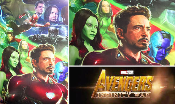 Image result for avengers infinity wars poster