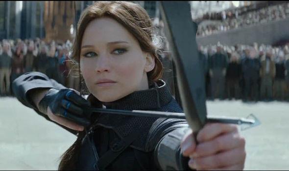Katniss Gif Mockingjay Part 1