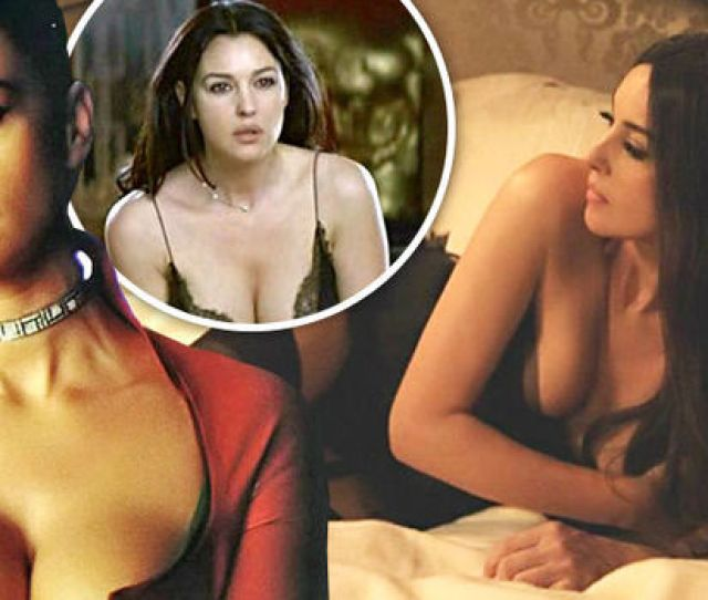 Monica Bellucci Stars In Spectre Tonight Her Hottest Scenes And