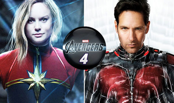 captain marvel and ant-man