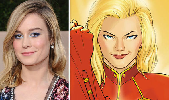 brie larson and captain marvel