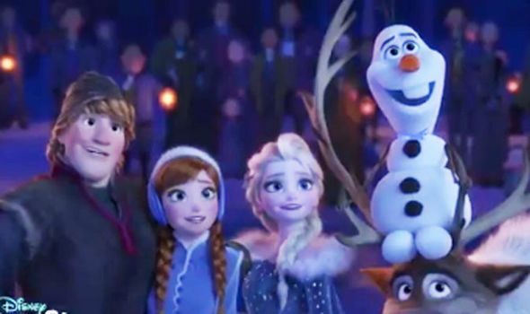 Frozen sequel Olaf's Frozen Adventure