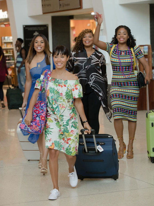 Girls at the airport