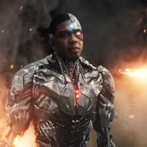 Justice League: Ray Fisher as Cyborg