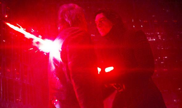 Star Wars: Kylo Ren kills Han