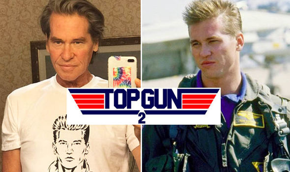 Top Gun 2: Val Kilmer spotted on set?