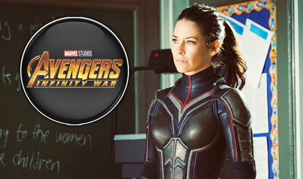 the wasp and infinity war logo