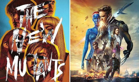 x men movie timeline the new mutants