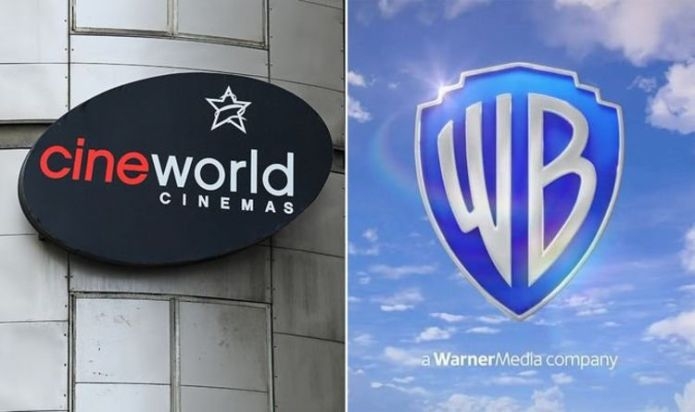 Cineworld cinemas reopen in May with month-long exclusivity deal for Warner Bros movies