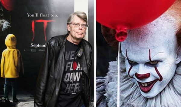 IT movie shock: Stephen King admits IT is 'very BADLY ...