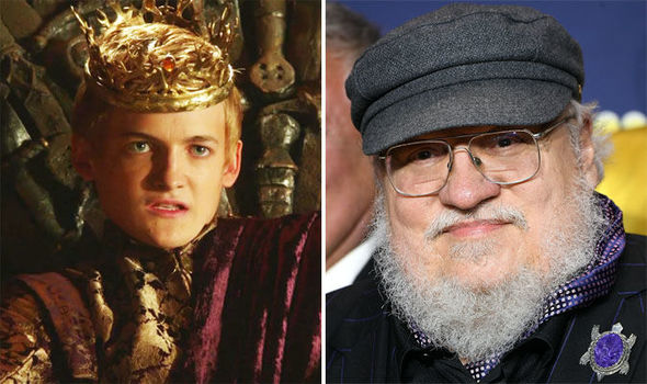 king joffrey and george rr martin