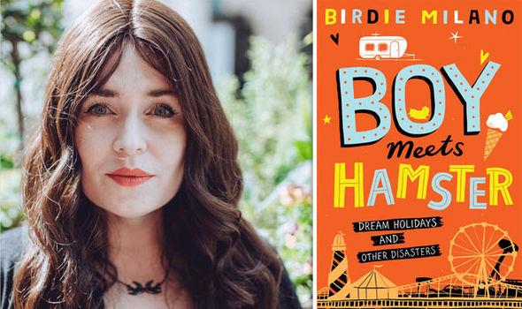 Birdie Milano and her novel Boy Meets Hamster