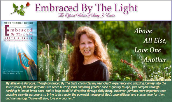 Embraced By The Light author Betty J Eadie