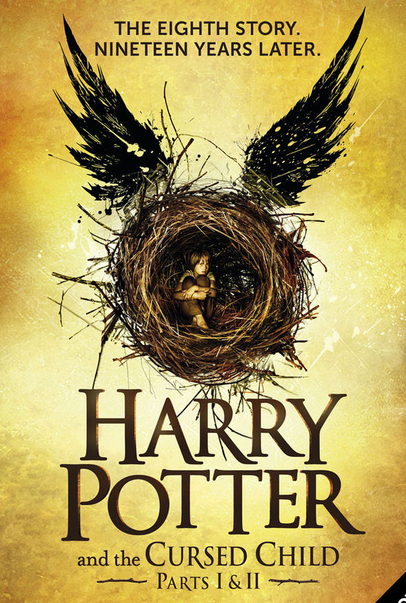 Image result for harry potter and the cursed child book poster