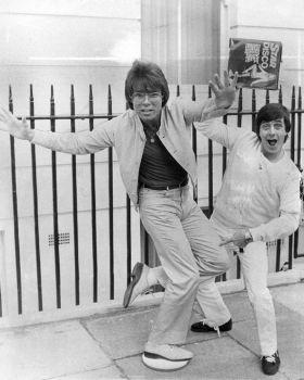 Tony Prince with Cliff Richard
