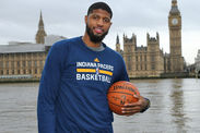 Exclusive Indiana Pacers star Paul George looking wow London Denver Nuggets News Gossip