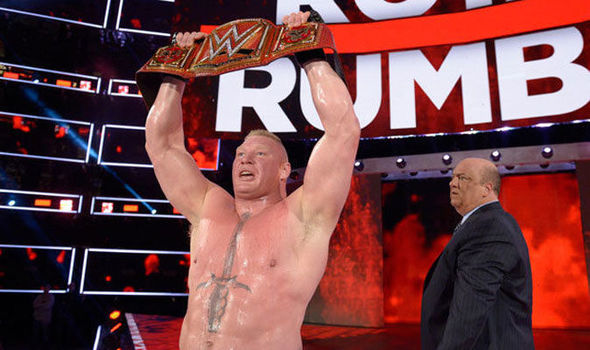 Brock Lesnar will defend the Universal title against Roman Reigns
