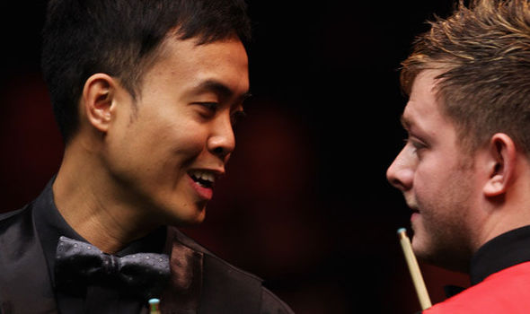 Marco Fu and Mark Allen