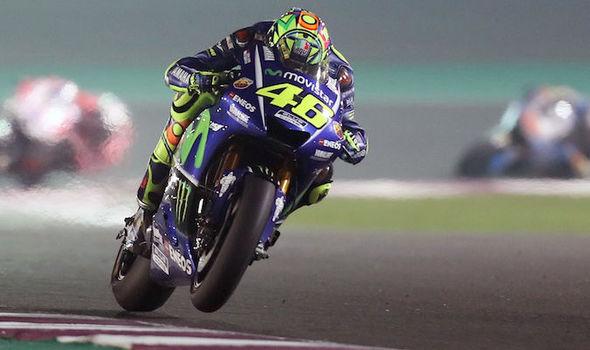 MotoGP rider Valentino Rossi