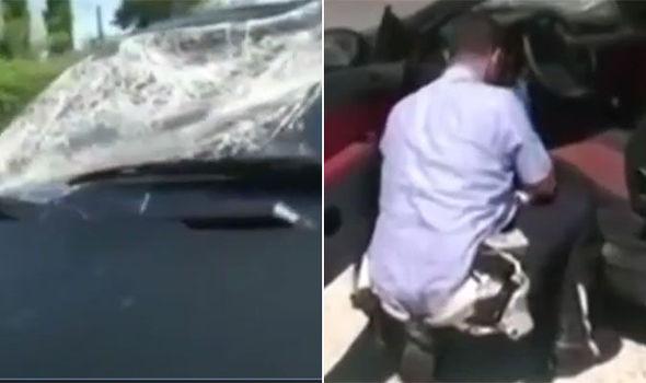 Nicky Hayden crash video