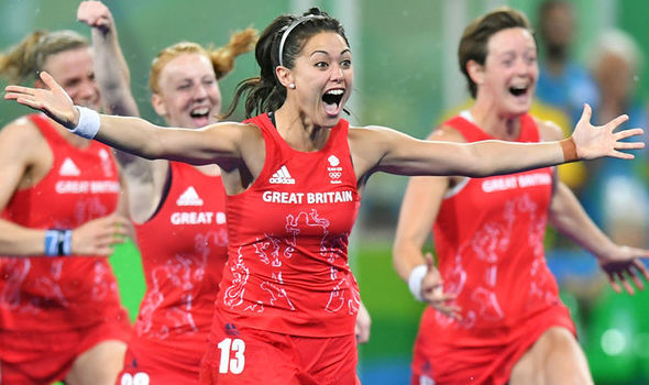Olympic star Sam Quek