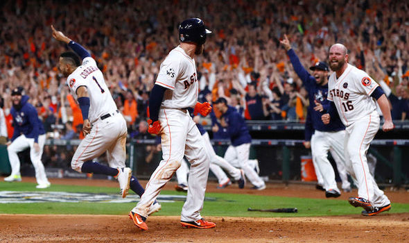 The Astros won a thrilling Game five last time out