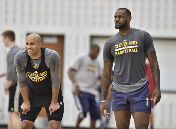 Richard Jefferson played alongside LeBron James at the Cavaliers