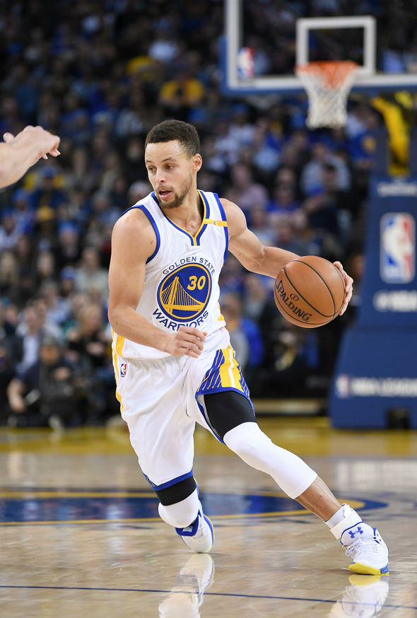 Steph Curry is the reigning two-time MVP