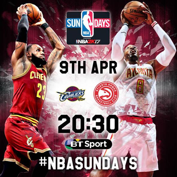 The game will be live on BT Sport with tip off at 8.30pm