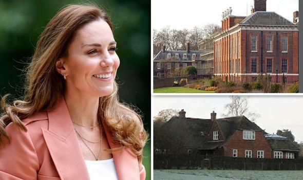 Kate Middleton inside homes