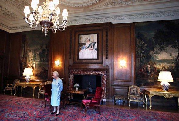 Holyroodhouse Throne Room