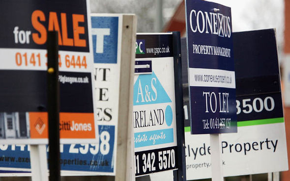 Property for sales signs