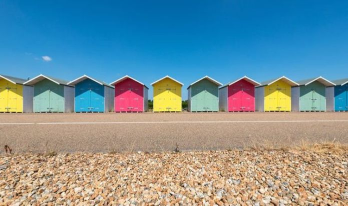 Rightmove names its 'favourite' beach huts for sale as prices surge to £40,000
