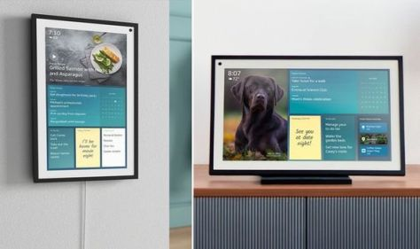 The latest Amazon Echo is a picture frame that can recognise your face