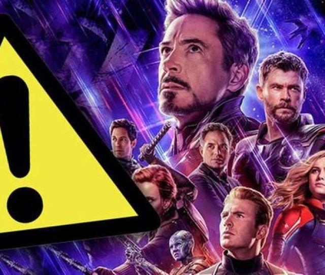 Avengers Endgame Warning