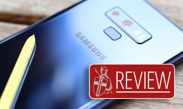Galaxy Note 9 Review The Ultimate Phablet For Those Prepared To Pay The Price Express Co Uk