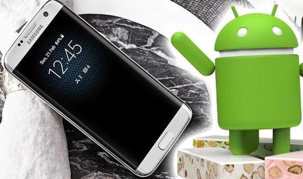 Samsung S7 Nougat update