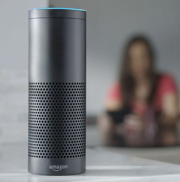 Amazon Echo Siri speaker