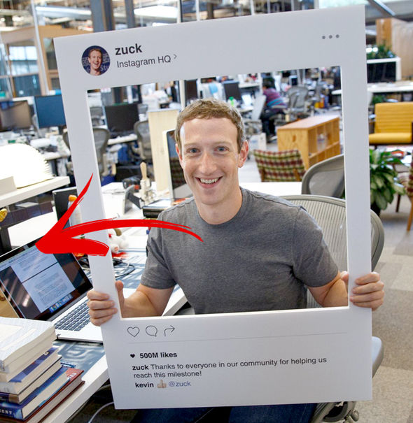 Facebook CEO Mark Zuckerberg puts tape across his webcam to prevent people spying on him