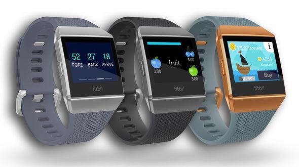 tiga model Fitbit Ionic