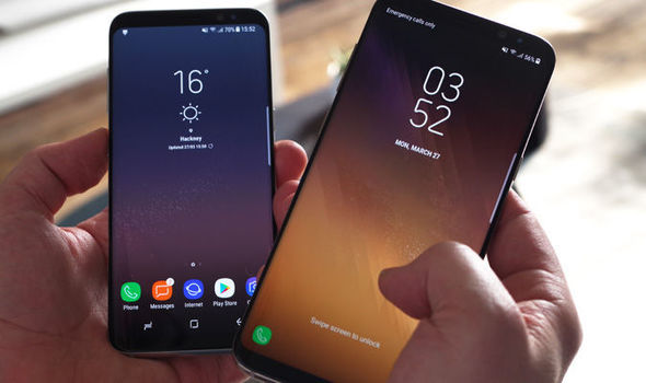 Image result for Samsung Galaxy S9 and S9+ photos