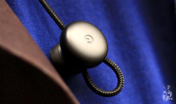 The Google headphones have a pleasing, circular design