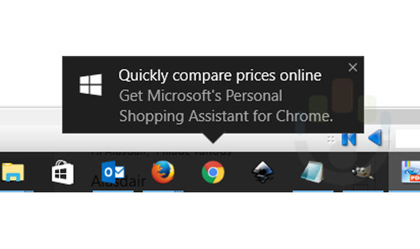 Google chrome pop up adverts microsoft windows 10
