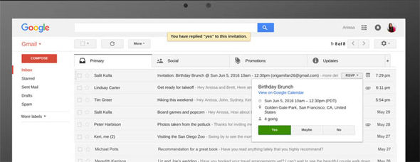 Gmail update Google new security feature