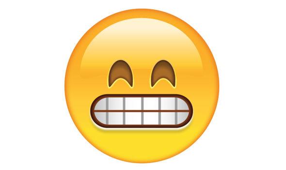 Image result for grimacing emoji