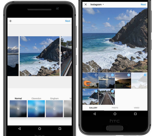 Instagram is testing the ability to upload multiple photographs into a single album
