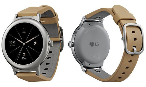 LG Watch Style appears to be a sleek smartwatch with only one physical button