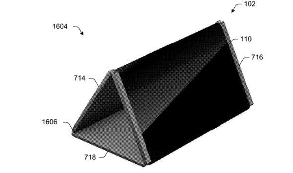 surface phone folding hinge microsoft patent